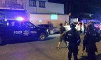 Cảnh sát nhanh chóng có mặt tại hiện trường. Ảnh: THX