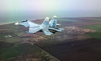 Một máy bay chiến đấu Sukhoi Su-30SM. Ảnh: Sputnik