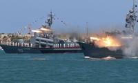 Một tàu của Hải quân Nga. Ảnh: Reuters