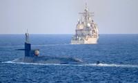 Tàu ngầm mang 154 tên lửa dẫn đường của Mỹ tiến vào Vịnh Ba Tư