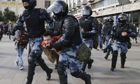 Cảnh sát Nga tuyên bố sẽ trấn áp các hành động biểu tình bất hợp pháp.