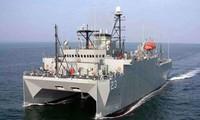 Tàu trinh sát USNS Impeccable của Mỹ. Ảnh: CSIS
