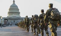 Mỹ thắt chặt an ninh đồi Capitol sau cảnh báo âm mưu bị tấn công. Ảnh: Getty