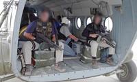 Hình ảnh cho thấy lực lượng CIA đang tiến đến Afghanistan