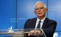 Cao ủy phụ trách chính sách đối ngoại và an ninh của Liên minh châu Âu - ông Josep Borrell. Ảnh: Politico