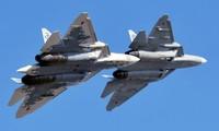 Tiêm kích Su-57. Ảnh: RT