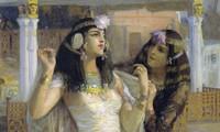 Tranh vẽ Cleopatra của Frederick Arthur Bridgman vào năm 1896. Ảnh: Getty Images