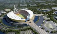 Trung Quốc tặng Campuchia Sân vận động Quốc gia Morodok Techno trị giá 150 triệu USD. Ảnh: Khmer Times