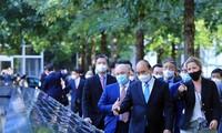 Chủ tịch nước thăm Khu tưởng niệm nạn nhân vụ khủng bố 11/9