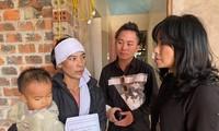 Thanh Lam, Tùng Dương thăm đồng bào lũ lụt Hà Tĩnh