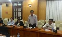 Ông Phạm Hồng Hải, Thứ trưởng Bộ TT&TT phát biểu tại buổi công bố kết luận thanh tra, sáng 23/3.