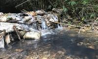 Công an Hoà Bình, Hà Nội vào cuộc vụ nước sạch Sông Đà bị nhiễm dầu