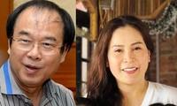 Ông Nguyễn Thành Tài và bà Lê Thị Thanh Thúy.