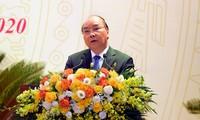 Thủ tướng Chính phủ Nguyễn Xuân Phúc phát biểu chỉ đạo Đại hội đại biểu Đảng bộ CATW