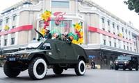 Hàng nghìn cán bộ, chiến sỹ và phương tiện của Công an Hà Nội xuất quân bảo vệ Đại hội XIII của Đảng