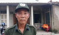 Ông Hoàng Phước Đông, nhân viên bảo vệ rừng may mắn thoát chết, vì đêm 12/10, ông ông đến phiên trực, nhưng lo ngại trời mưa to nên ông Đông đã không lên núi – Văn Chương
