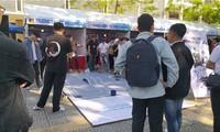 Triển lãm giới thiệu hơn 60 sản phẩm công nghệ của học sinh, sinh viên thành phố Đà Nẵng.