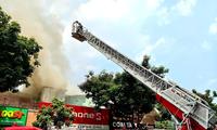 Teen trường Ernst Thalmann kể lại cuộc sơ tán khẩn cấp khỏi vụ cháy đường Nguyễn Thái Học