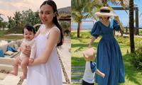 Đàm Thu Trang khoe ảnh con gái lúc mới sinh, Hòa Minzy bày tỏ lý do giấu diện mạo con trai