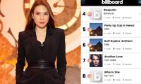 """Ca khúc """"Cô Ấy Là Ai"""" của Mỹ Tâm bất ngờ lọt Top 10 của Billboard LyricFind Global"""