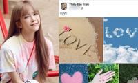 """Sơn Tùng nói về tình yêu, Thiều Bảo Trâm ngay lập tức đăng 43 tấm ảnh """"LOVE"""" ngọt ngào"""
