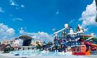 """Công viên nước khổng lồ có """"visual đỉnh cao"""" mới xuất hiện ở Đồng Nai khiến teen háo hức"""
