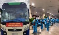 Nhiều tỉnh thành đón người dân ở TP.HCM về quê: Sinh viên ngoại tỉnh mong chờ được về nhà
