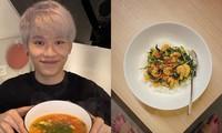 """Quang Trung khoe ảnh vào bếp siêu đảm đang nhưng tại sao fan lại """"tức lồng ngực""""?"""