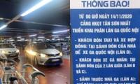 Hạ cánh sân bay Tân Sơn Nhất, hành khách phải leo 4 tầng để bắt Grab và trả phụ phí 50K