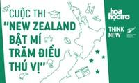 """Khởi động cuộc thi khám phá New Zealand: """"New Zealand - Bật mí trăm điều thú vị"""""""
