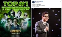 """Động thái mới nhất của MC Trấn Thành sau khi bị công kích là """"không phù hợp với Rap Việt"""""""