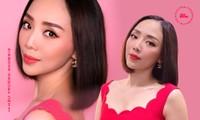 """Khoe ảnh dịu dàng với váy đỏ, Tóc Tiên gây hoa mắt vì quá giống """"Chị Mười Ba"""" Thu Trang"""