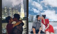 Hương Giang - Matt Liu bất ngờ chia sẻ loạt khoảnh khắc ấm áp bên nhau khiến fan thích thú
