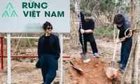 """Hà Anh Tuấn thực hiện dự án """"Rừng Việt Nam"""": Trồng 2 cánh rừng với hơn 1.800 cây xanh"""
