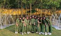 Kỳ quân sự đáng nhớ của sinh viên Đại học Kinh Tế Quốc Dân giữa mùa dịch COVID-19
