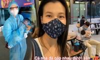 Hành trình bế con 2 tháng tuổi sang Singapore để gặp ông xã của MC Hoàng Oanh gây xúc động