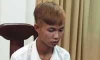 Nguyễn Lâm tại cơ quan công an. Ảnh: CACC
