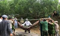 Sạt lở thủy điện Rào Trăng 3: Cứu được 19 công nhân và đưa thi thể đầu tiên ra ngoài