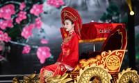 Hoa hậu Đỗ Mỹ Linh ăn chay 2 ngày để ngồi kiệu rồng hóa Thánh Mẫu tại Chung kết HHVN 2020
