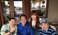 Đăng ảnh chụp chung với Chí Tài và nhạc sĩ Lê Quang, vợ cũ Bằng Kiều nhắn nhủ xúc động