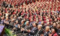Các đại biểu dự phiên khai mạc Đại hội. (Nguồn: TTXVN)