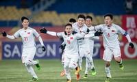 Tuổi trẻ Thủ đô cổ vũ các chiến binh U23 Việt Nam giành chiến thắng tại trận chung kết lịch sử diễn ra vào chiều 27/1, tại Thường Châu, Trung Quốc