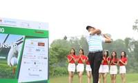 Goldfer Bảo Long phát bóng khai mạc giải Tiền Phong Golf Championship 2019 trên sân c