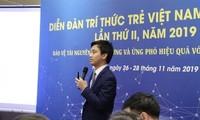Anh Nguyễn Duy Tâm, nghiên cứu sinh tại Singapore chia sẻ giải pháp về năng lượng tái tạo trong bảo vệ môi trường, ứng phó biến đổi khí hậu.
