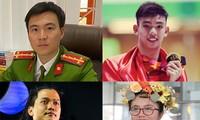 4 đề cử gương mặt trẻ Việt Nam tiêu biểu giao lưu trực tuyến: Đại úy Ngô Anh Tuấn, Nguyễn Huy Hoàng, Hoàng Hoa Trung, Nguyễn Khánh Linh.