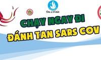 """Giải chạy bộ online """"Chạy ngay đi – Đánh tan Sars-Cov"""" diễn ra trong 21 ngày, thu hút 3000 người tham gia"""