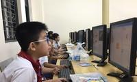 Các thí sinh tham gia phần thi chung
