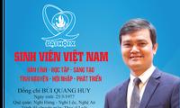 Anh Bùi Quang Huy, Bí thư Trung ương Đoàn, Chủ tịch Trung ương Hội Sinh viên Việt Nam được giao giữ trách nhiệm Bí thư thường trực Trung ương Đoàn. Ảnh: Bảo Anh