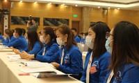 Các đại biểu tham gia Đại hội đại biểu Đoàn Tập đoàn Công nghiệp Than - Khoáng sản Việt Nam. Ảnh: Bảo Anh