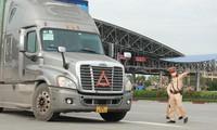 Bùi Đức Minh, Bí thư chi đoàn Đội Cảnh sát giao thông số 14 hướng dẫn phương tiện giao thông vào Thủ đô Hà Nội
